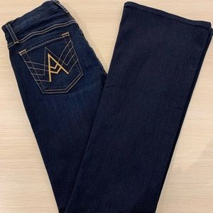"""7forallmankind """"A"""" Pocket Flare Jeans"""
